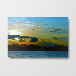 The Other Side of Hong Kong Metal Print