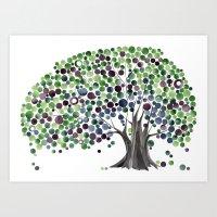 Old Bayan Tree Art Print