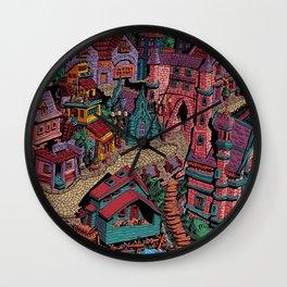 Capharnaüm City (Color) Wall Clock