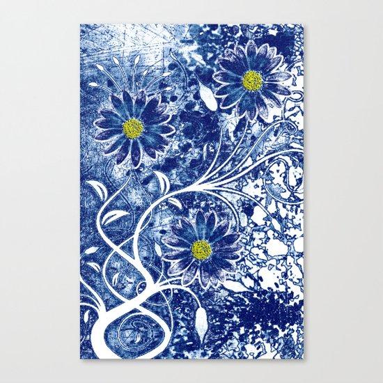 Blue China Canvas Print