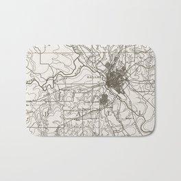 Dallas Map Bath Mat