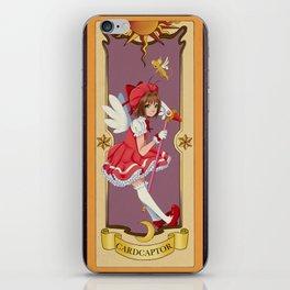 Clow Card iPhone Skin