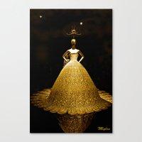 china Canvas Prints featuring China by Saundra Myles