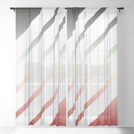 Lightning III Sheer Curtain