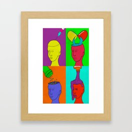Addicted Framed Art Print