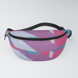 Abstract Drama #society6 #violet #pattern Fanny Pack