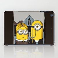 gothic iPad Cases featuring Minion Gothic by le.duc