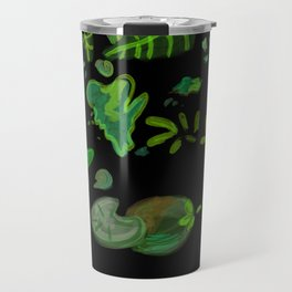 Lilly Pond at the Conservatory of Flowers In San Francisco Travel Mug