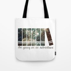 I'm Going on an Adventure - Galaxy II Tote Bag