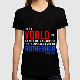 Lyndon Baine Johnson World Quote T-shirt