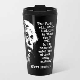 Albert Einstein Travel Mug