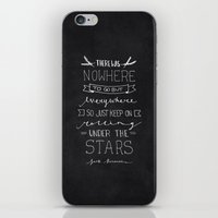 kerouac iPhone & iPod Skins featuring On The Road - Jack Kerouac by Samantha Lynch