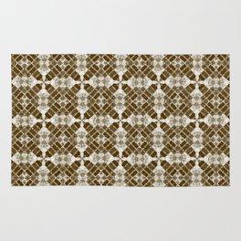 Brown Quilt Rug