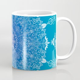 Feather | Leaf Mandala Coffee Mug