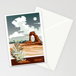 DELICATE ARCH MOAB UTAH Stationery Cards