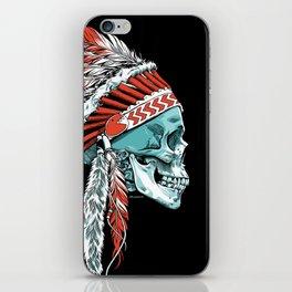 Skull Chief iPhone Skin