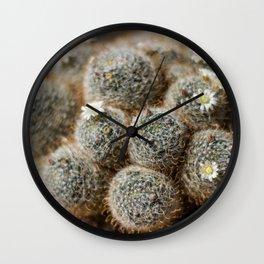 Cutesy Cacti Wall Clock
