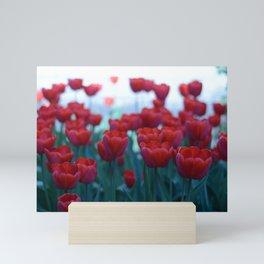 Red Tulips Mini Art Print