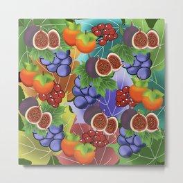 fruits in autumn Metal Print