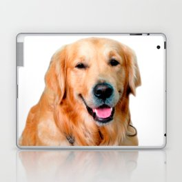 Beautiful Dog Golden Retriever and Your Bone Laptop & iPad Skin