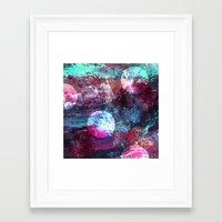 night sky Framed Art Prints featuring Night Sky by Marlidesigns