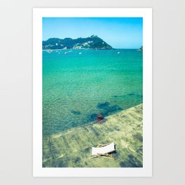 Sunchair Art Print