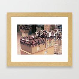 N3al Framed Art Print