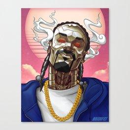 Snoop Bot Canvas Print