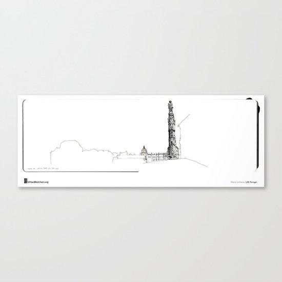 """Mário Linhares, """"Porto Tower"""" Canvas Print"""