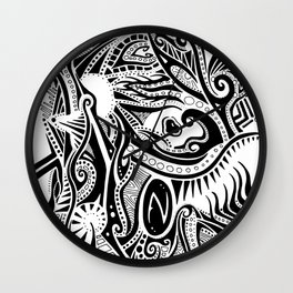 Gaper Wall Clock