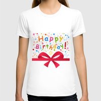birthday T-shirts featuring Birthday by aleksander1