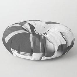 Old British Top Model Floor Pillow