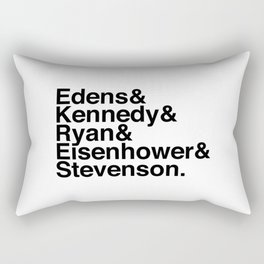 Helvetica Chicago Expressways Rectangular Pillow