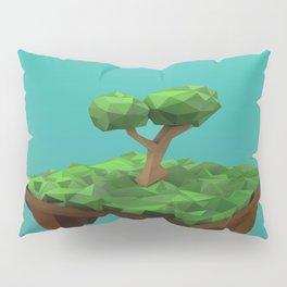 lowpoly summer Pillow Sham