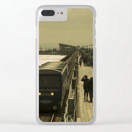 Southend Gold Clear iPhone Case