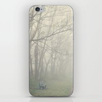 fog iPhone & iPod Skins featuring Fog by Laura Ruth