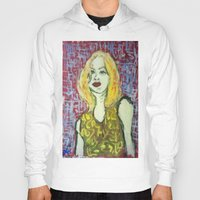 emma stone Hoodies featuring EMMA by JANUARY FROST