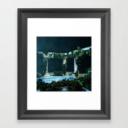 landscape pillar Framed Art Print