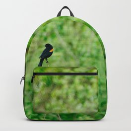 Red-Winged Blackbird Backpack