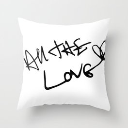 Harry Styles - All the Love Throw Pillow