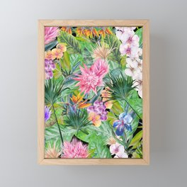 01 | FLORAL PARADISE Framed Mini Art Print