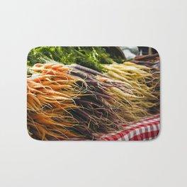 Market Carrots Bath Mat