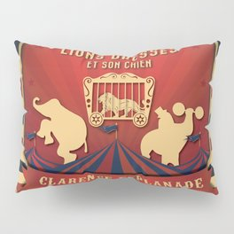 CIRQUE PRICE ROUGE Pillow Sham
