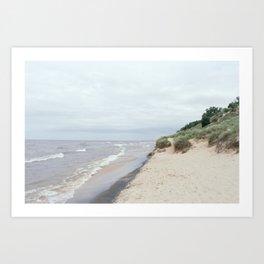Kruse Park, Muskegon MI Art Print