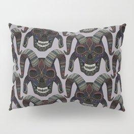 demon skull heather Pillow Sham