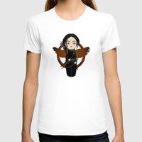 katniss T-shirts featuring Kokeshi Katniss by Pendientera