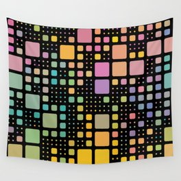 Pop Squares Wall Tapestry
