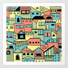Flavella Art Print