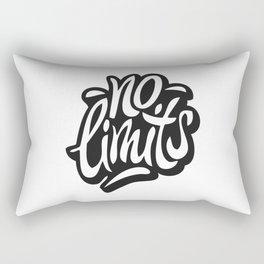 No Limits Rectangular Pillow