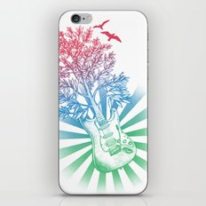 Let It Grow iPhone & iPod Skin